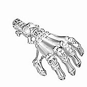 Urban Male Modern Stainless Steel Gothic Claw Pendant For Men