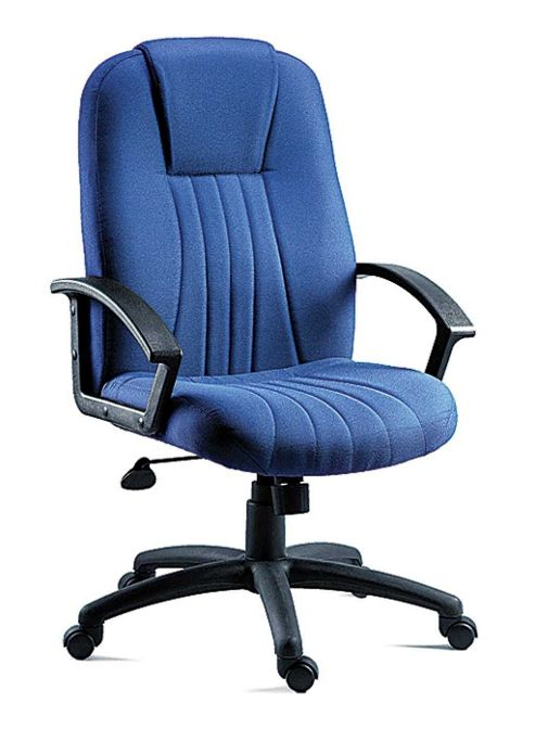 Teknik Office City Fabric Executive Armchair - Blue