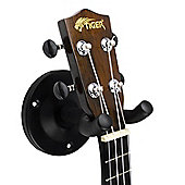 Tiger Pack of 3 Ukulele Wall Hangers - Ukulele, Banjo & Mandolin Holder