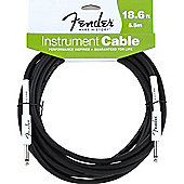 Fender Straight Jack to Jack Instrument Cable - 5.5m