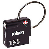 Rolson TSA Combination Cable Lock