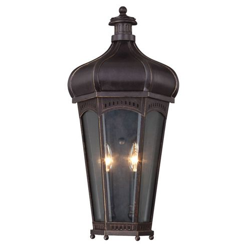 Buy Savoy House Champlain Two Light Outdoor Wall Sconce Pocket Lantern in Antique Cooper from ...