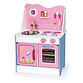 Viga Wooden Pink Fairy Kitchen