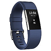 Fitbit Charge 2 Blue/Silver Small
