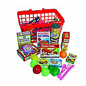 Peterkin Grocery Basket with Play Food - Toys/Games