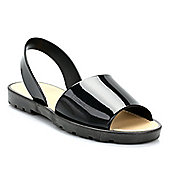 Beach Athletics Womens Black Plage Sandals