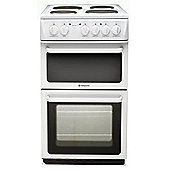 Hotpoint HW170EWS Electric Twin Cavity Cooker - White