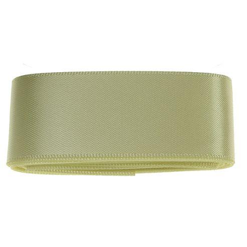 Lemon Yellow Satin Ribbon - 3mt - 25mm