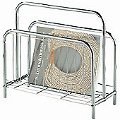 Urbane Designs Kurier Magazine Rack in Chrome