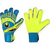 Uhlsport Eliminator Soft Goalkeeper Gloves - Blue