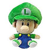 Official Nintendo Mario Plush Series Stuffed Toy - 13cm Baby Luigi