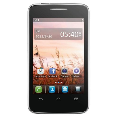 Orange Alcatel One Touch 3040 Black