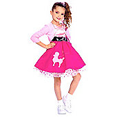 Rubies Fancy Dress Costume - 50's Favourites - 50's Girl - UK TODDLER