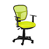 Premier Housewares Office Chair - Lime Green