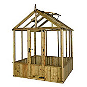 Mercia 6x6 Pressure Treated Greenhouse