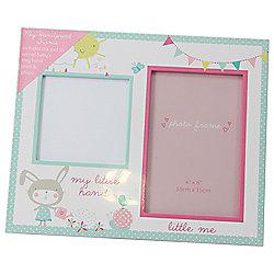 Baby Girl Handprint and Frame