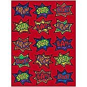 Stickers Superhero Stickers (4pk)