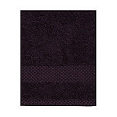 Linea Softer Feel Egyptian Cotton Bath Sheet Aubergine