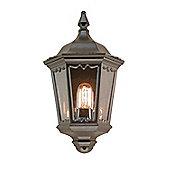 Elstead Lighting Small Outdoor Wall Lantern in Black
