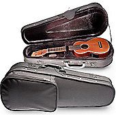 Rocket Soprano Ukulele Soft Case - Black