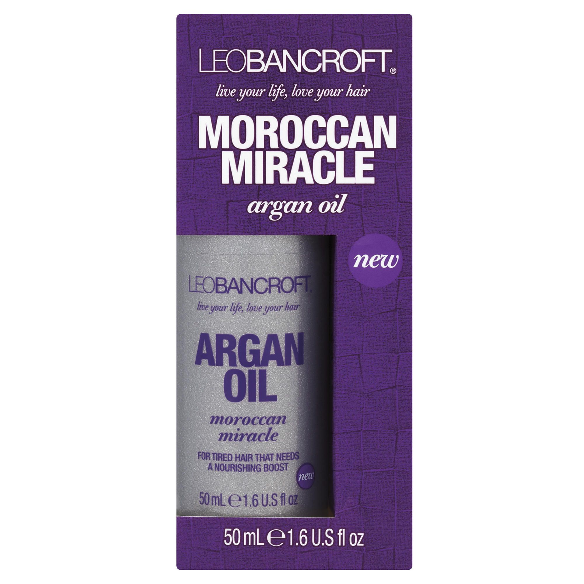Leo Bancroft Moroccan Miracle Argan Oil