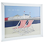 Tesco Brighton Framed Print 40 x 50cm