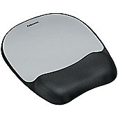 Fellowes Mousepad Non-skid Memory Foam (Silver)