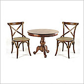 Aspect Design by Wayfair Mahogany Village Dining Set