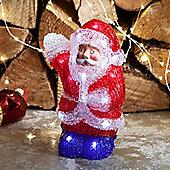Battery Light Up Santa Claus LED Christmas Figure
