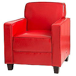 Sofa Collection Limoges Tub Chair - Red