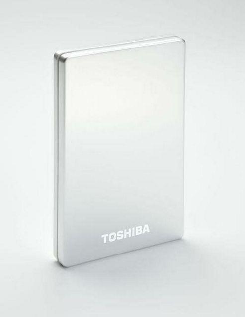 Toshiba PA4236E-1HE0 Stor.E alu2 500GB 2.5-Inch USB Portable External Hard Drive (Silver)