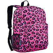 Children's Backpack - Pink Leopard Print