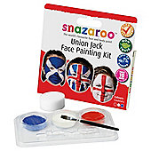 Snazaroo Union Jack Face Paint Set