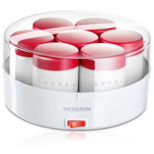 SEVERIN Yoghurt Maker with 14 Glasses