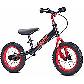 Caretero Flash Balance Bike (Black/Red)
