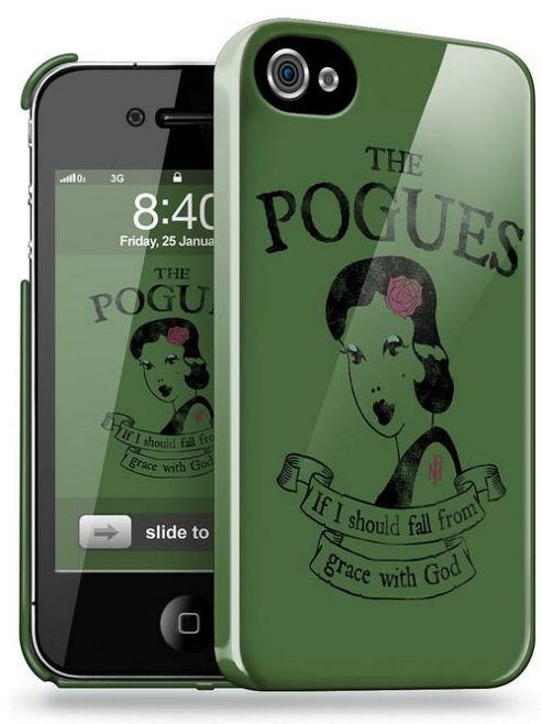 Upfront Case TRIP4POG2 Official The Pogues Phone Clip Case