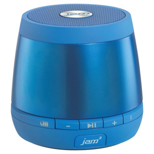 HMDX Jam Plus Wireless Bluetooth Speaker, HX-P240GY, Blue