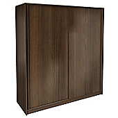 Urbane Designs Hadlee Bedroom Sliding Wardrobe - Walnut