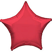 Foil Balloons 19' Red Star (each)