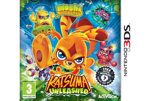 Moshi Monsters - Katsuma Unleashed (3DS)