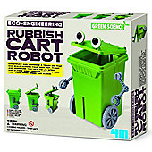 Great Gizmos 4M Green Science Eco Engineering Rubbish Cart Robot