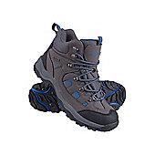 Adventurer Mens Waterproof Hiking Walkign Outdoors Boots - Grey