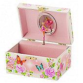 Fairy Rose Garden Musical Jewellery Box