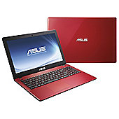"ASUS X550 15.6"" Intel Celeron Dual-Core, 6GB, 750GB, Touchscreen Red Laptop."