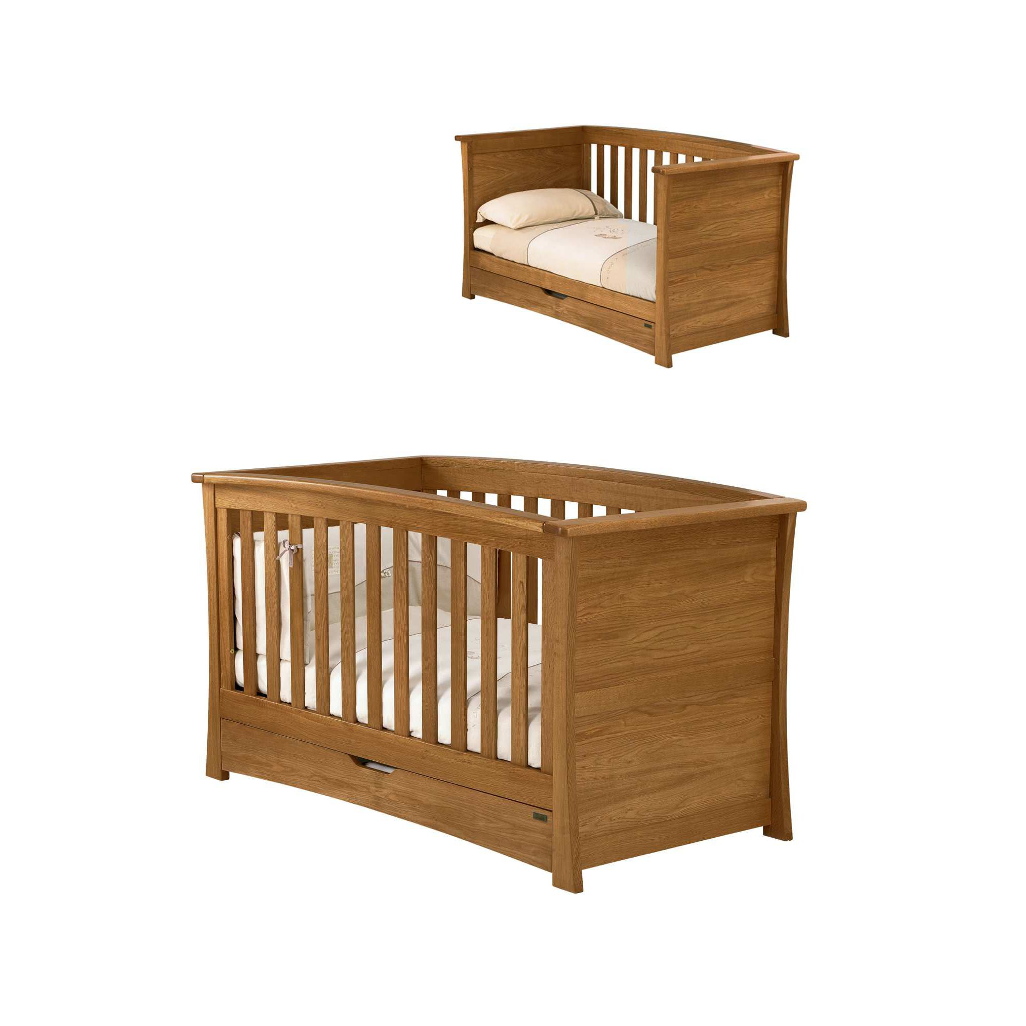 Mamas & Papas - Ocean Cot/Day Bed - Dark Oak at Tesco Direct