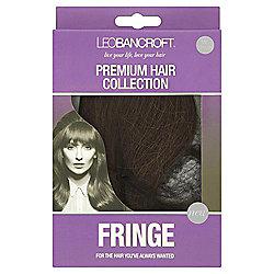 Leo Bancroft Fringe Clip - Mid Brown
