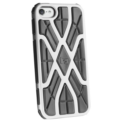 G-FORM Xtreme iPod Touch Case, Silver/Black RPT