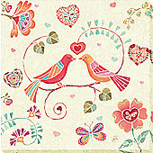 Birds of Paradise Children's Canvas 2