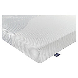 Silentnight 24hr 18cm Rolled 3 Zone Mattress with Memory Foam and Purotex Single