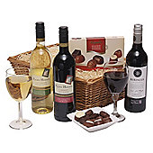 californian wine trio with chocs (OU63)